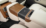 Land Rover Range Rover D300 2020 UK first drive review - rear console
