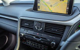 Lexus RX 450hL 2018 review centre console