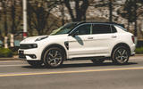 Lynk&Co 01 PHEV 2019 first drive review - on the road side