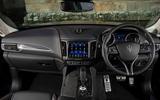 Maserati Levante GranSport V6 2018 first drive - dashboard