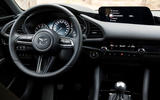Mazda 3 2.0 Skyactiv-G 2019 first drive review - steering wheel