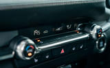 Mazda 3 2019 UK first drive review - climate controls
