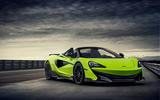 McLaren 600LT Spider 2019 first drive review - static front