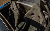 McLaren 720S Spider 2019 UK first drive - seats