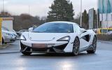 McLaren Sports Series Hybrid prototype front on