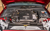 Mercedes-Benz C300e 2020 UK first drive review - engine