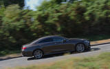 Mercedes-Benz CLS 350 d 2018 UK first drive on the road rear