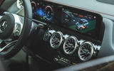 11 Mercedes Benz EQA 2021 UK first drive review air vents