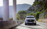 Mercedes-Benz EQC 2019 first drive - on the road nose