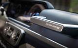 Mercedes-Benz G400d 2019 first drive review - grab handle