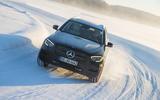 Mercedes-Benz GLC 300 2019 prototype drive - cornering