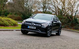 Mercedes-Benz GLC 300 2020 UK first drive review - cornering front