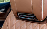 Mercedes-Benz S560 Coupe 2018 UK review seat vents