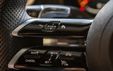 Mercedes-AMG E63 S Estate 2020 first drive review - steering wheel buttons