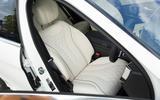 Mercedes-Benz S-Class S500L 2018 long-term review - front seats