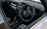 Mini Electric 2020 UK first drive review - dashboard