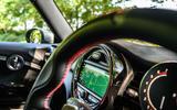 Mini JCW GP 2020 UK first drive review - infotainment