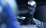 Morgan Plus 8 2018 review gearstick