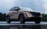 2020 Nissan Ariya - front 3/4