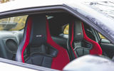Nissan GT-R Nismo 2020 UK first drive review - front seats