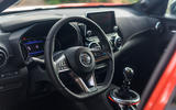 Nissan Juke 2019 first drive review - steering wheel