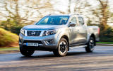 Nissan Navara 2020 UK first drive review - on the road front