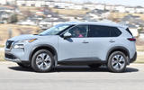 11 Nissan Rogue 2021 USA FD on road left