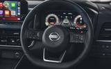 11 Nissan Qashqai 2021 UK FD steering wheel