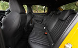 Peugeot 208 GT Line 2020 UK first drive review - rear seats