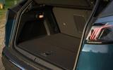 Peugeot 3008 Hybrid 2021 UK review - boot