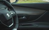 Peugeot 5008 2020 UK First Drive review - interior trim