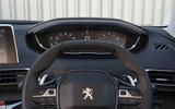 Peugeot 5008 2018 long-term review instrument cluster