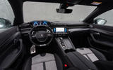 Peugeot 508 Hybrid4 2020 first drive review - cabin