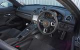 Porsche 718 Cayman GTS 2018 UK review dashboard