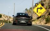 2019 Porsche 911 prototype first ride - turning