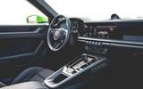 Porsche 911 Cabriolet 2019 first drive review - cabin