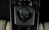 Porsche 911 Carrera S manual 2020 first drive review - gearstick