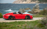 Porsche 911 Speedster 2019 first drive review - on the road side