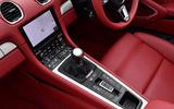 11 Porsche Boxster 25 years edition 2021 uk fd centre console