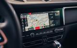 Porsche Macan 2019 first drive review - infotainment