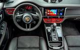 11 Porsche Macan GTS 2021 UK LHD first drive steering wheel