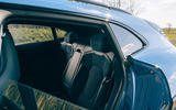 11 Porsche Taycan Cross Turismo 2021 LHD rear seats
