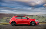 11 Renault Megane RS 300 EDC 2021 UK first drive review static side