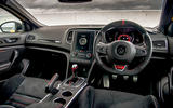 Renault Megane RS 300 Trophy 2019 UK first drive review - dashboard