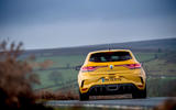 11 Renault Megane RS 300 Trophy 2021 UK first drive review on road rear