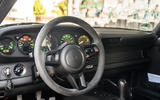 11 RUF CTR 2020 first drive review steering wheel