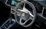 Seat Ateca Xperience 2020 UK first drive review - steering wheel