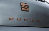 Seat Leon Cupra R 2018 UK review boot badge
