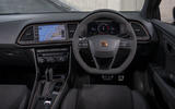 Seat Leon Cupra R ST Abt 2019 UK first drive review - dashboard