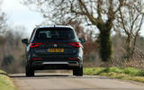 Seat Tarraco 2019 UK first drive review - cornering rear